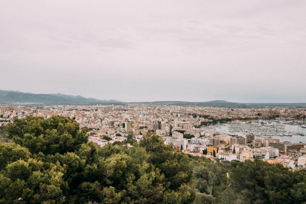 View of Palma, Mallorca