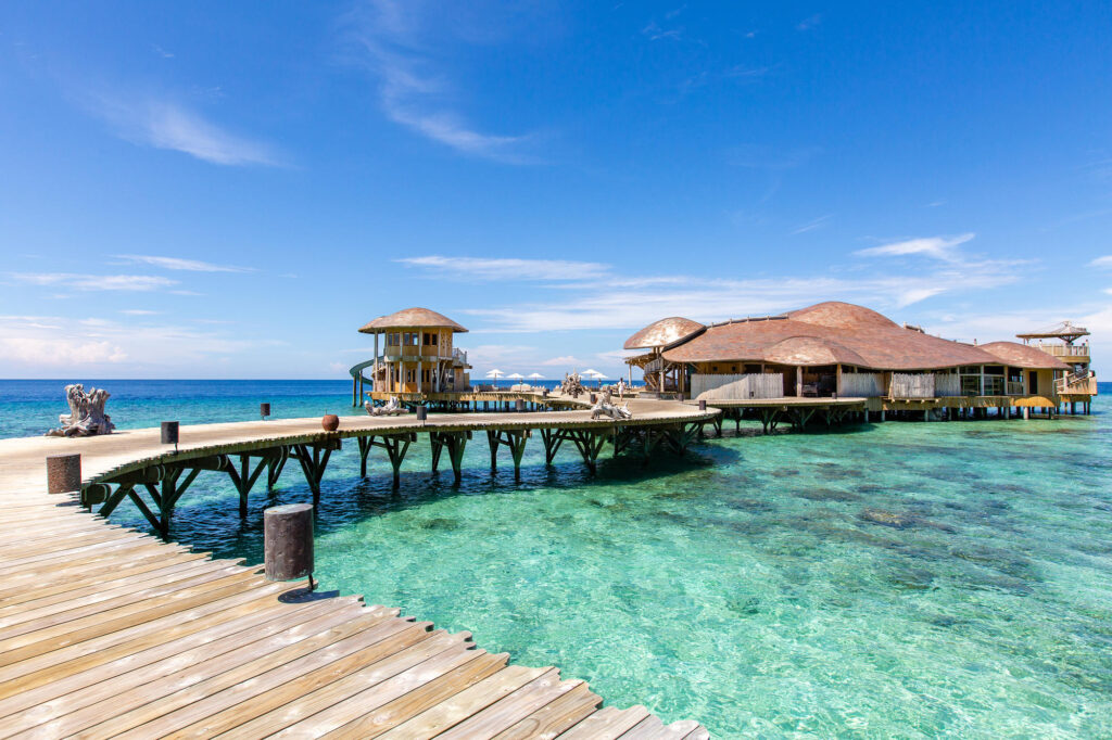 Out of the Blue at the Soneva Fushi