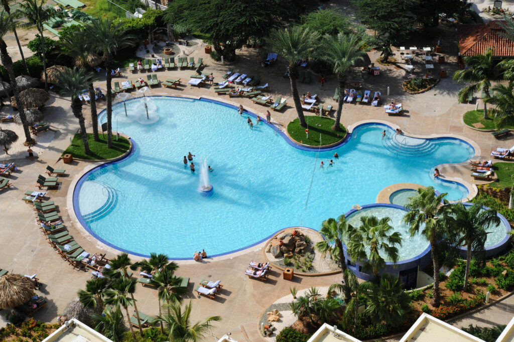 Pool at Hotel Riu Palace Antillas