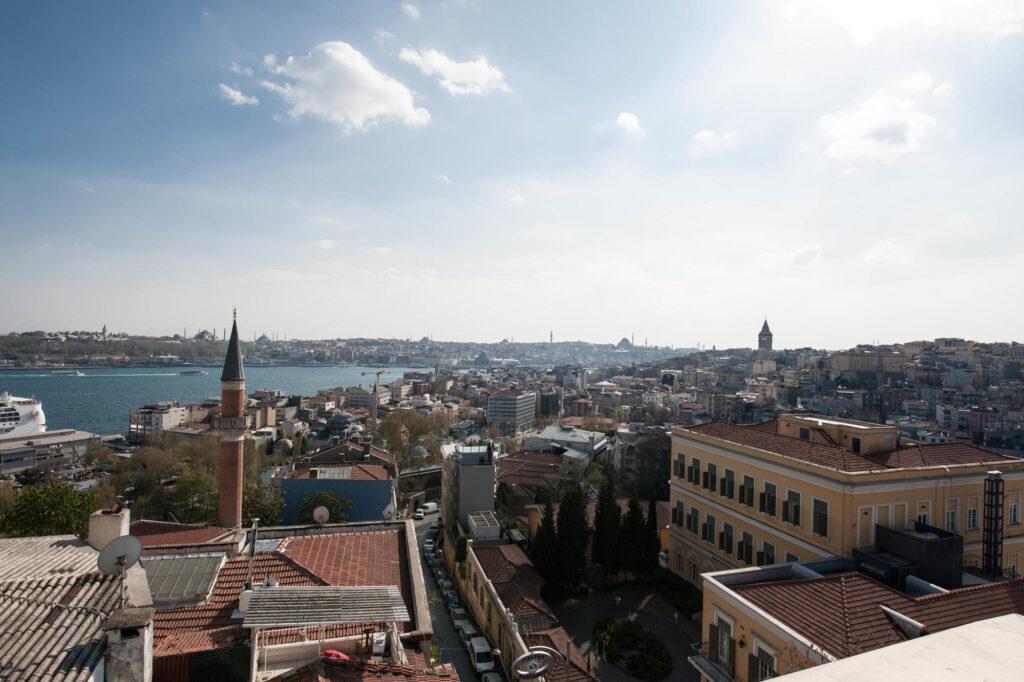 Vista dall'attico al Witt Istanbul Suites