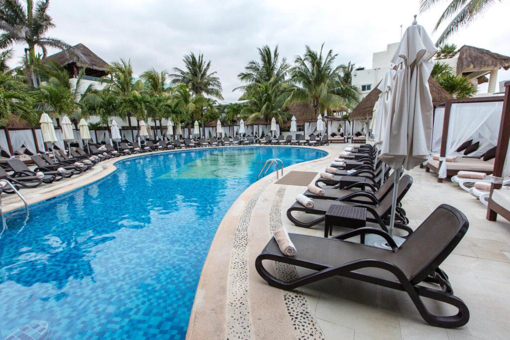 Pool at Desire Riviera Maya Resort