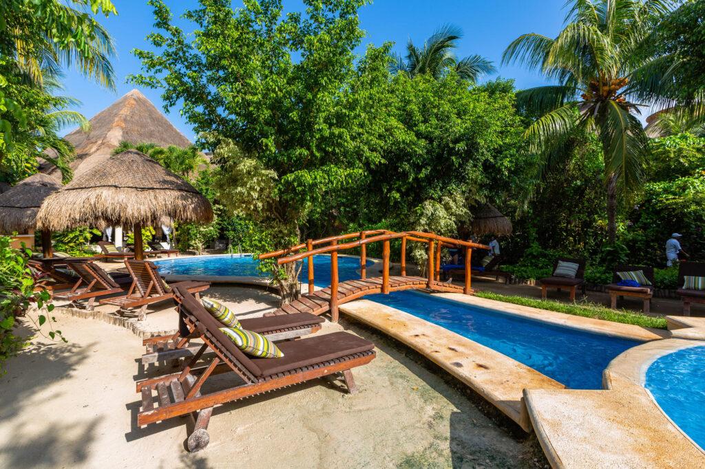 Pool at Villas HM Paraiso del Mar