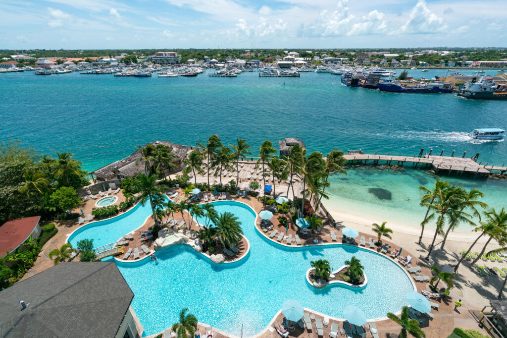 The Pool at the Warwick Paradise Island Bahamas - All Inclusive