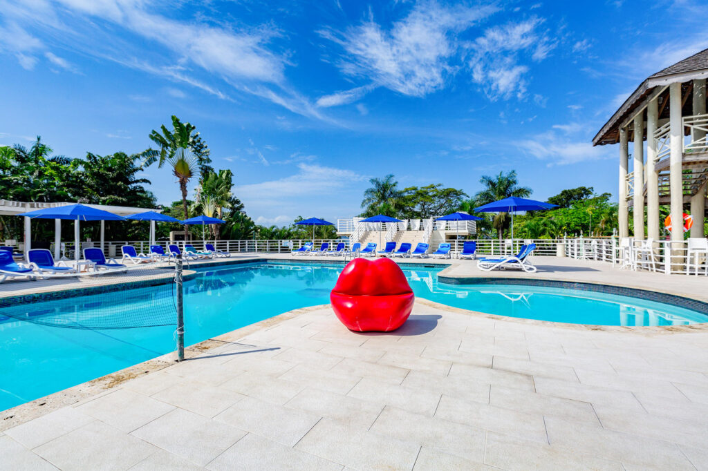 Pool at Hedonism II, Jamaica