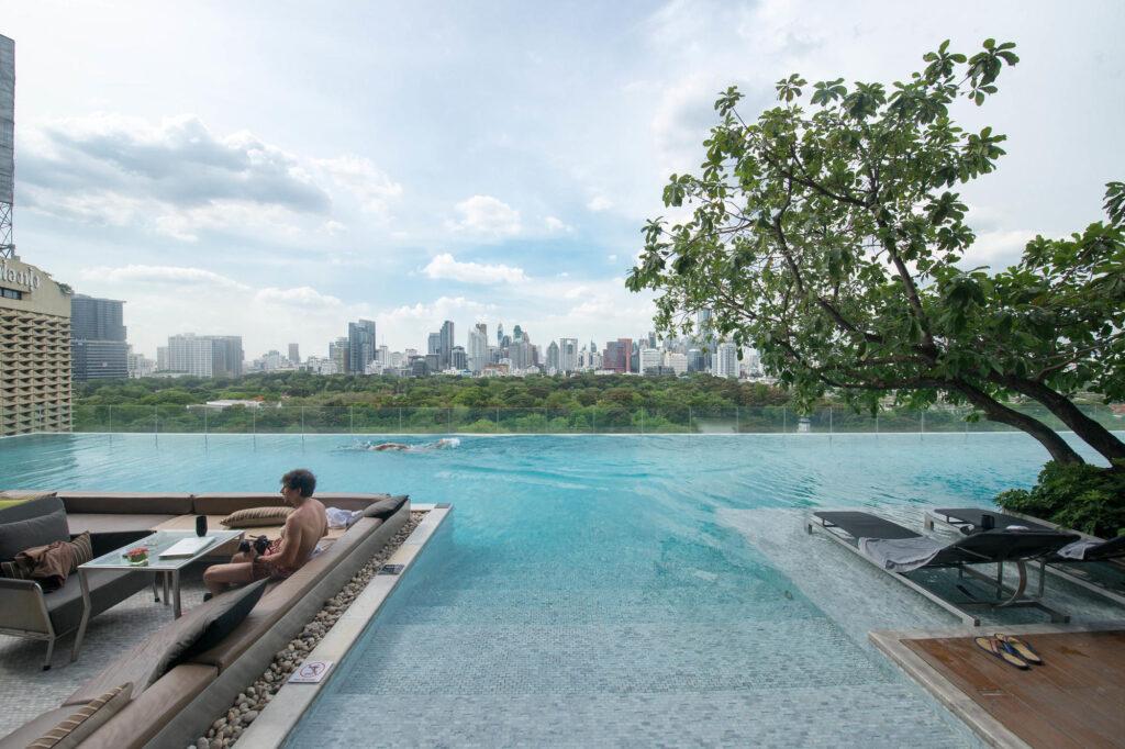 Pool at SO Sofitel Bangkok