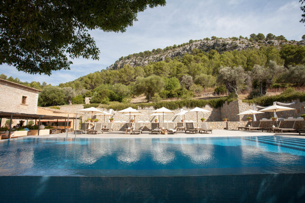 Pool at Son Brull Hotel & Spa in Mallorca