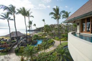 Overhead view of Sheraton Maui