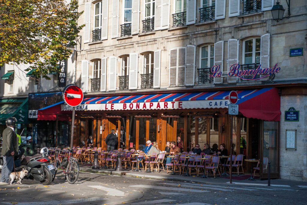 Cafe in the 6th Arrondissement, Paris