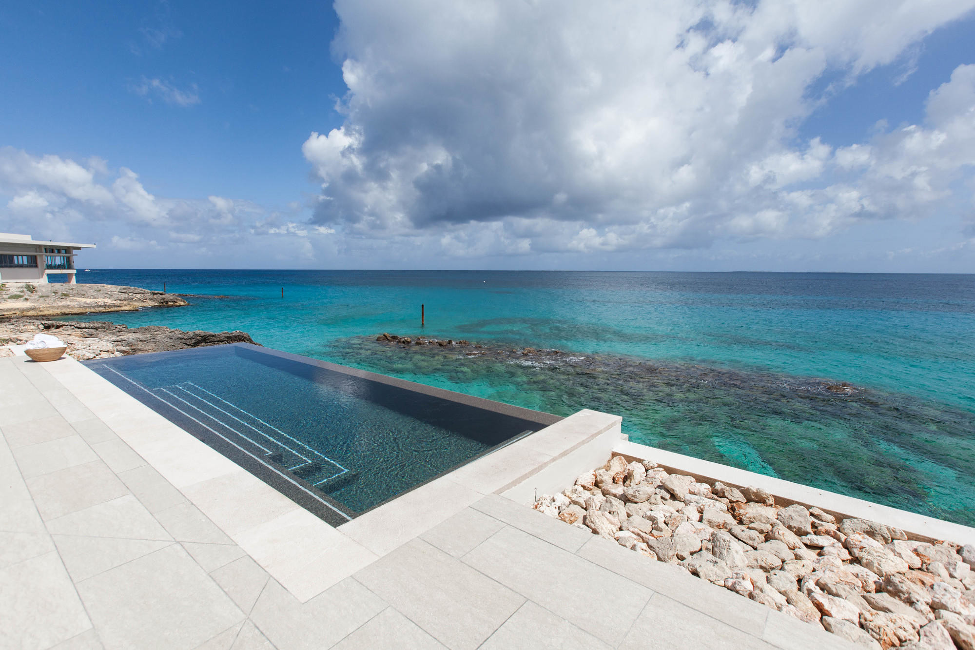 The spa pool at the Four Seasons Resort and Residences Anguilla
