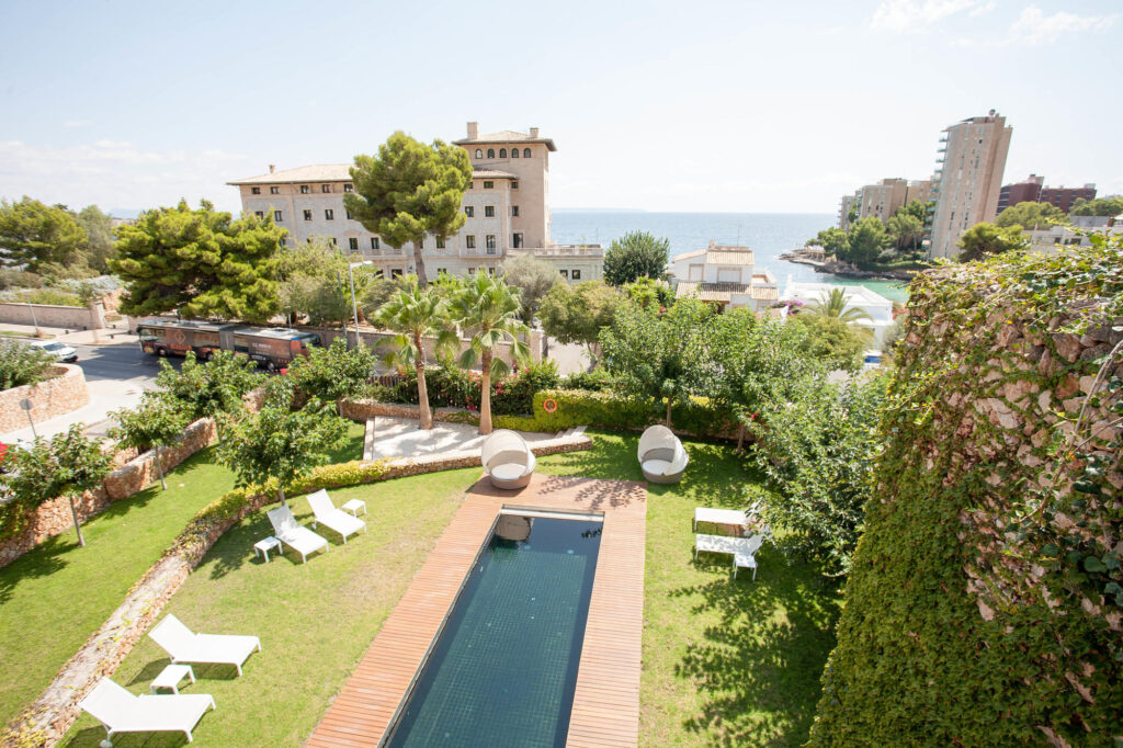 View of the Spa at the Hospes Maricel Mallorca & Spa