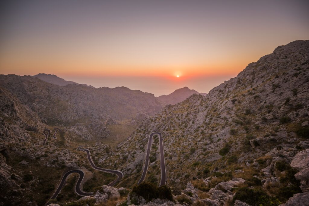 Mountains in Mallorca, Spain