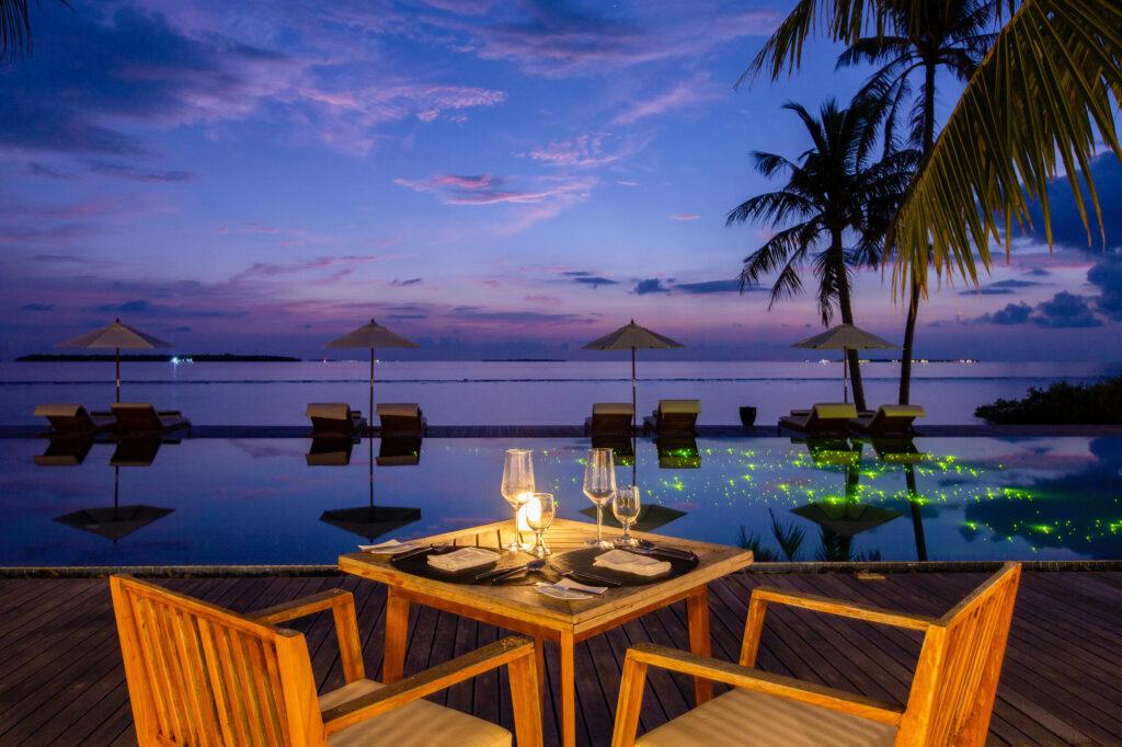 Restaurantul Thari de la Noku Maldive