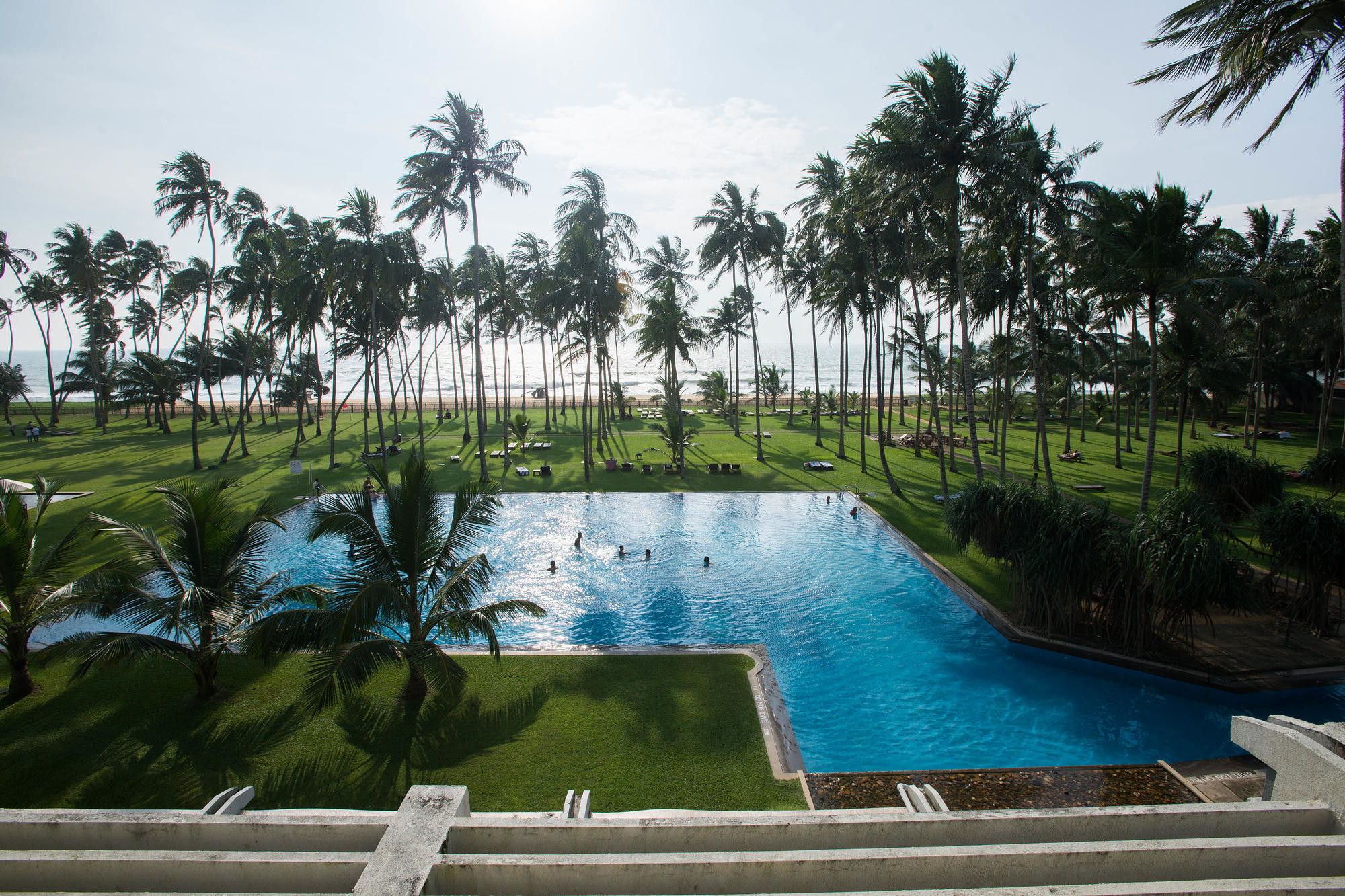 The Blue Water in Sri Lanka