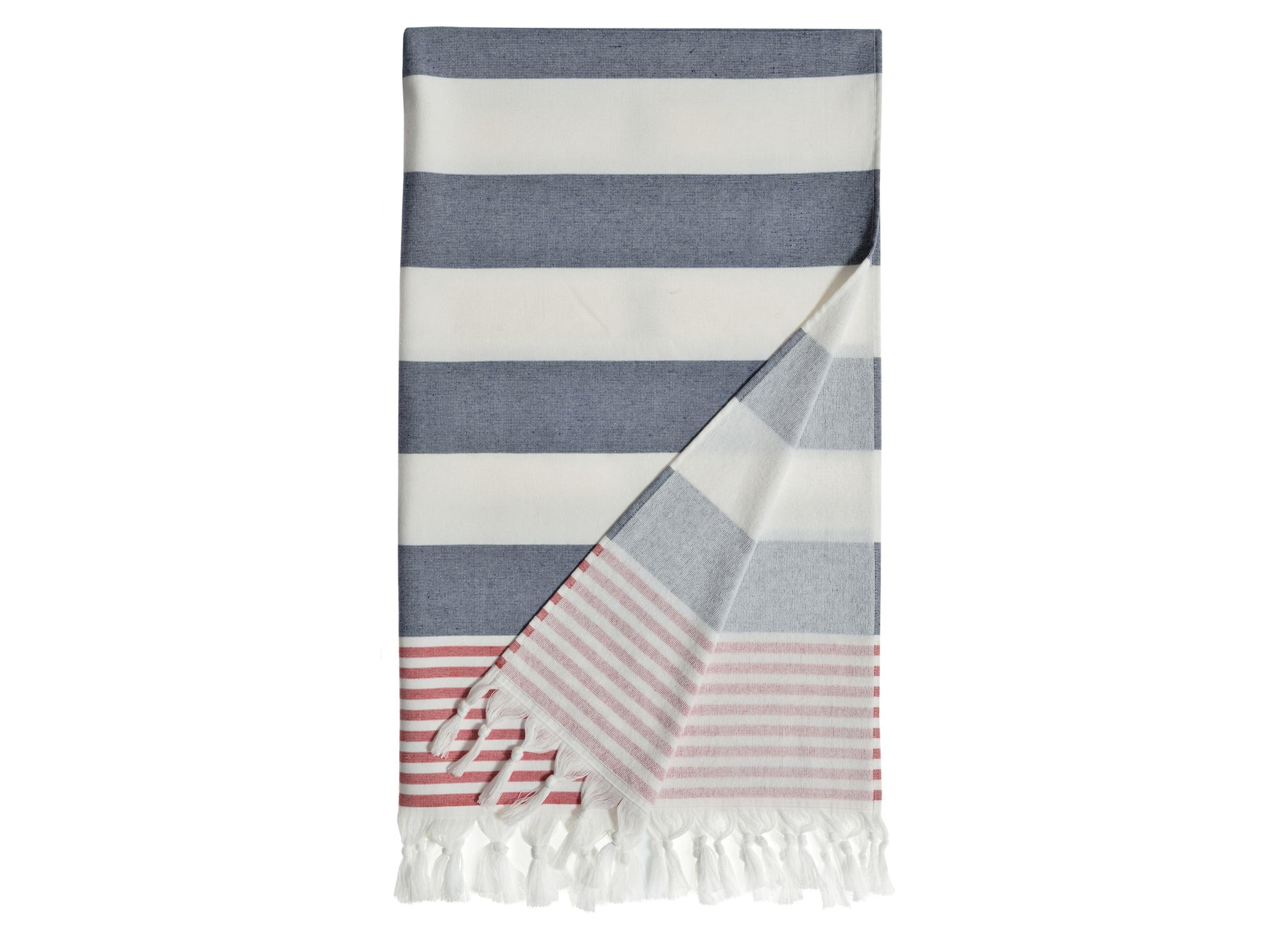 'Patriotic' Turkish Pestemal Towel by Linum Home Textiles