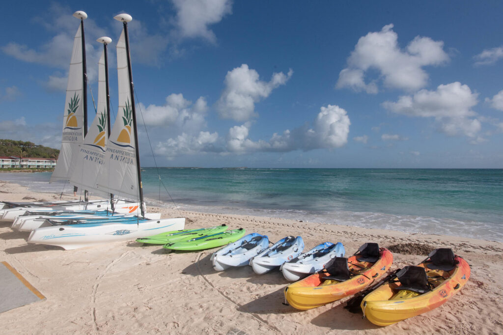Water Sports at the Pineapple Beach Club Antigua