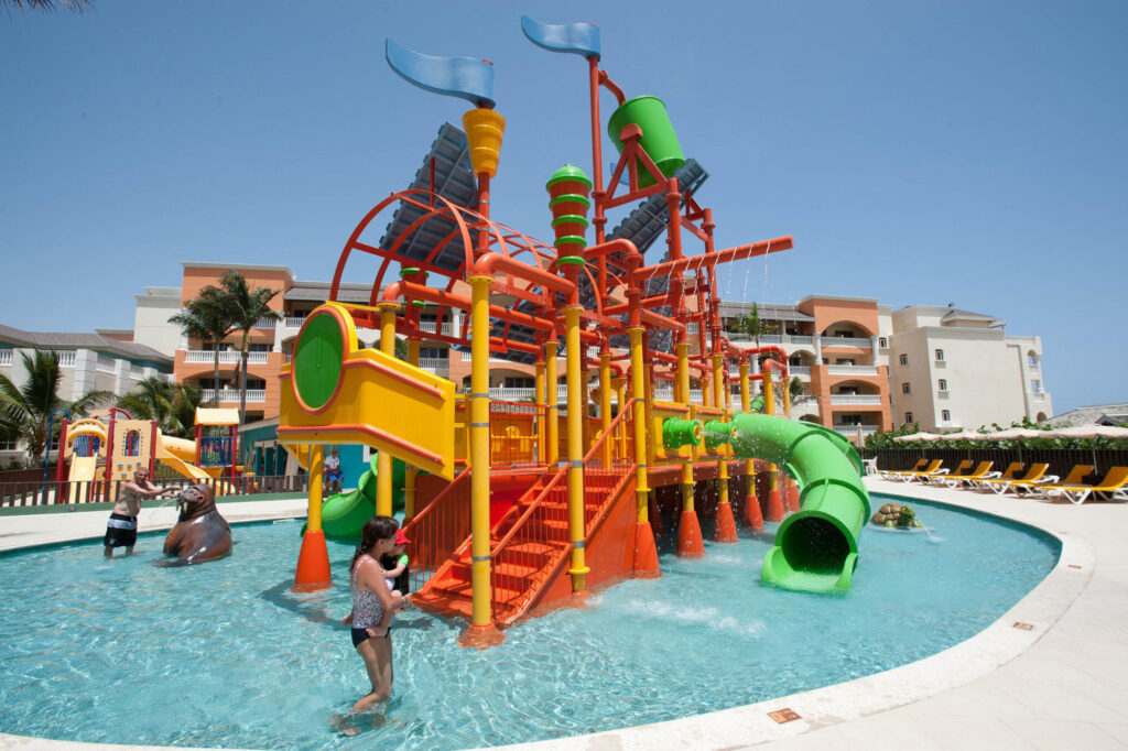 Waterpark at the Iberostar Rose Hall Suites