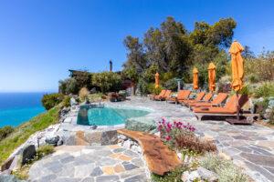 Sierra Mar Infinity pool at Post Ranch Inn