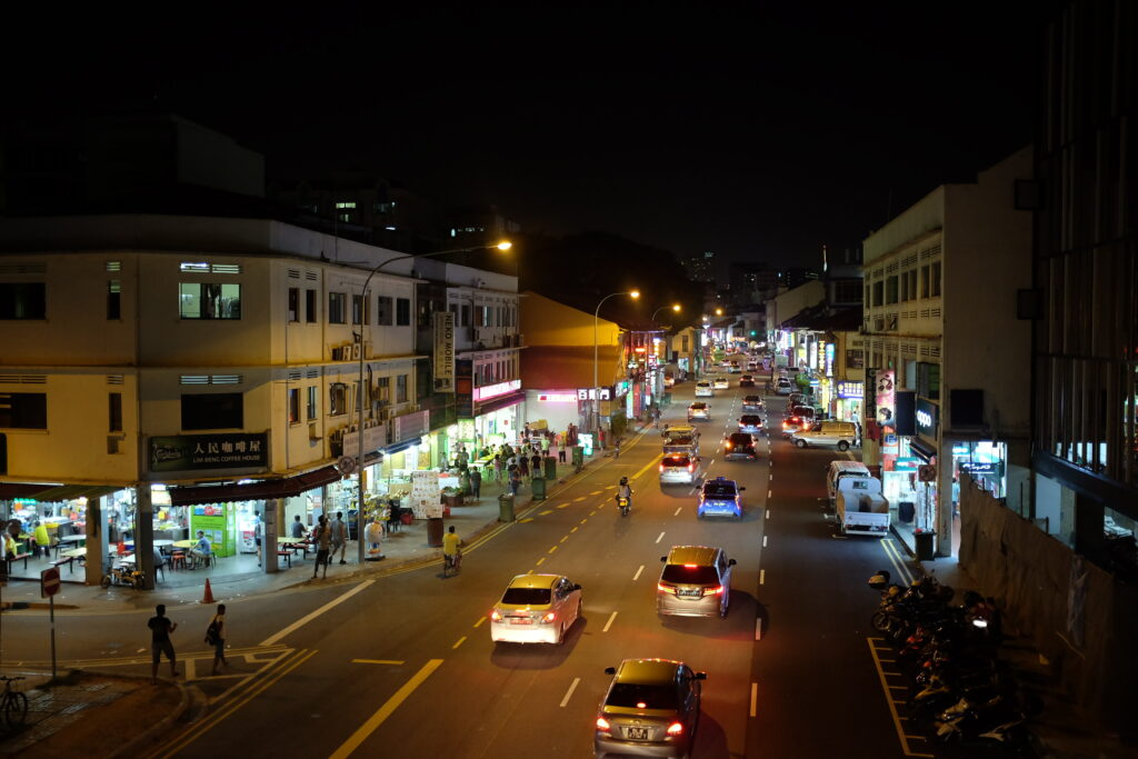Geylang at night
