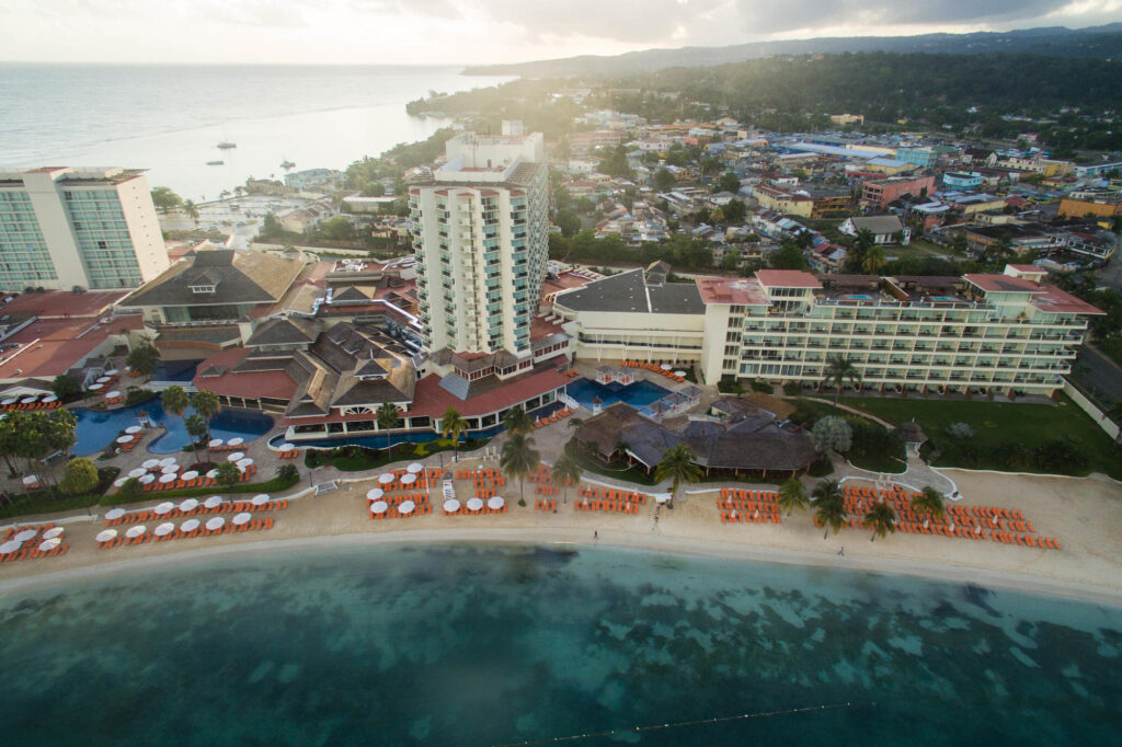 Aerial Photography at the Moon Palace Ocho Rios Jamaica
