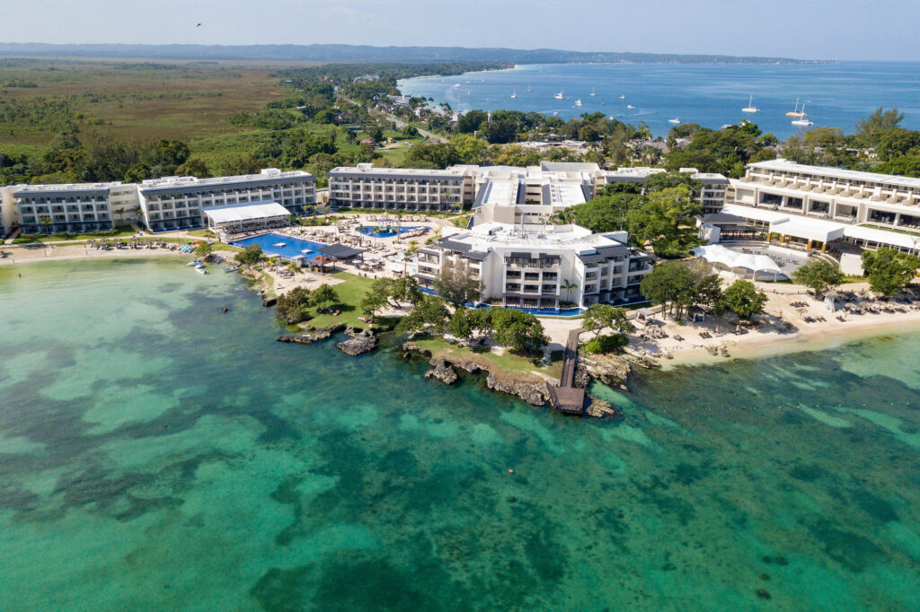 Aerial View of the Royalton Negril Jamaica