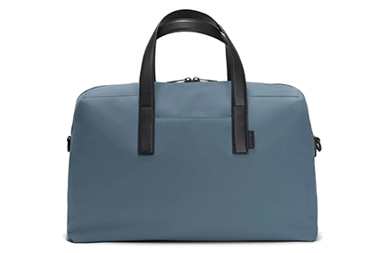 Away weekender bag in blue