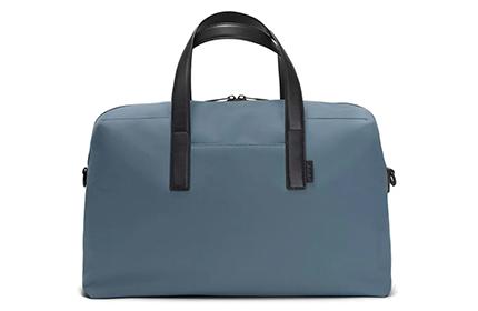 Away weekender bag in blue