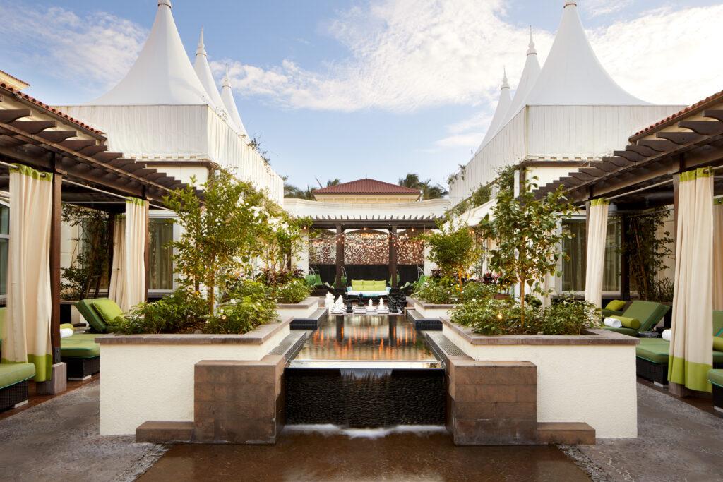 Eau Palm Beach Resort and Spa Spa Garden