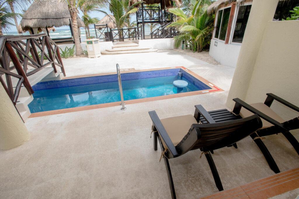 Hidden Beach Resort Mexico Swim-Up Suite