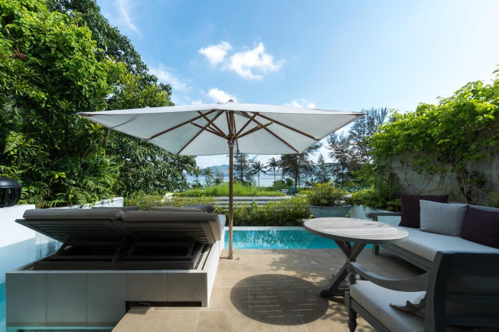 Ocean View Pool Pavilion at the Rosewood Phuket