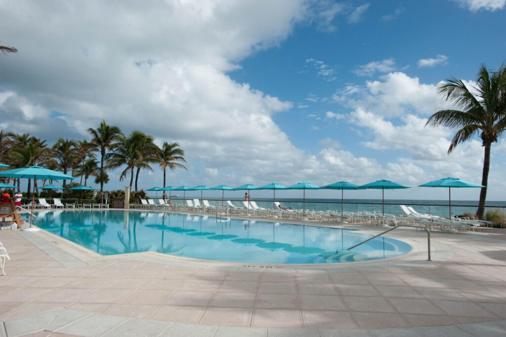 Pool at The Breakers Palm Beach