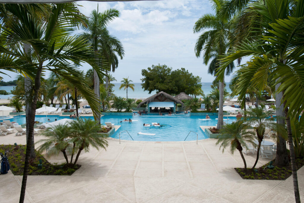 Pool at the Couples Negril Jamaica