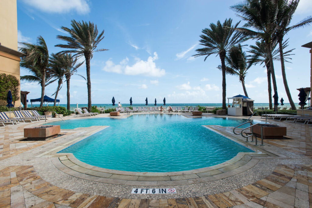 The Adult Pool at the Eau Palm Beach Resort & Spa