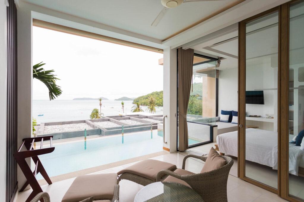 The Panoramic Pool Villa at the Bandara Villas Phuket