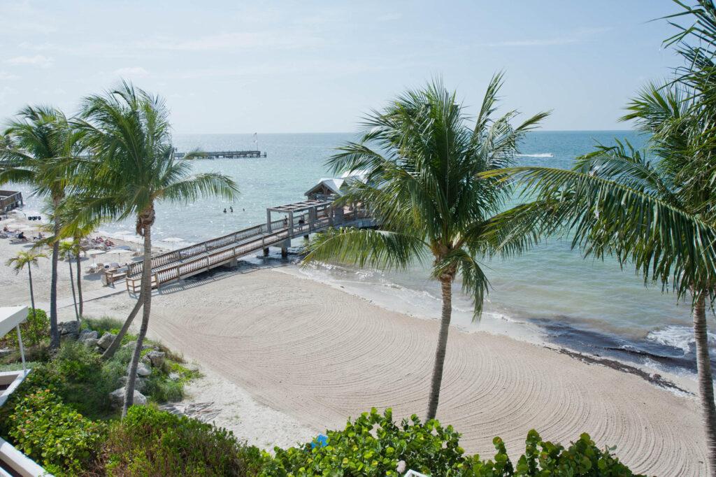Beach at The Reach Key West, A Waldorf Astoria Resort