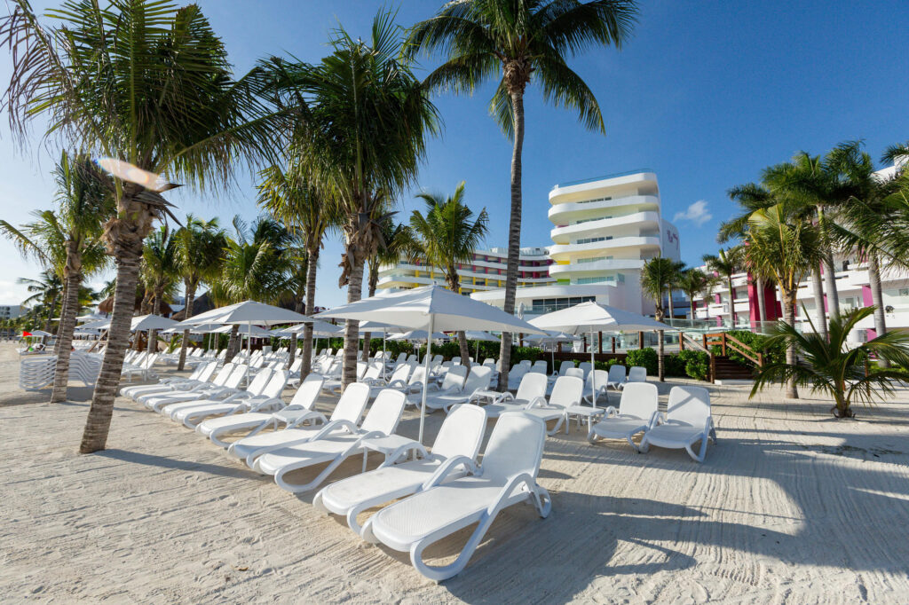 Beach at Temptation Cancun Resort