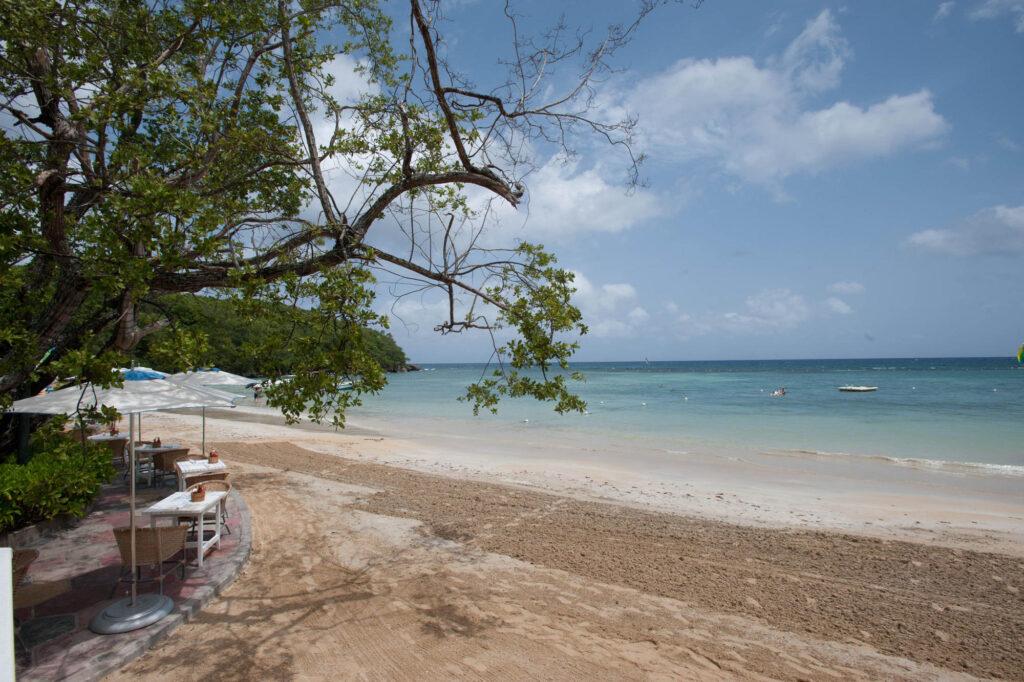 Beach at Couples Sans Souci