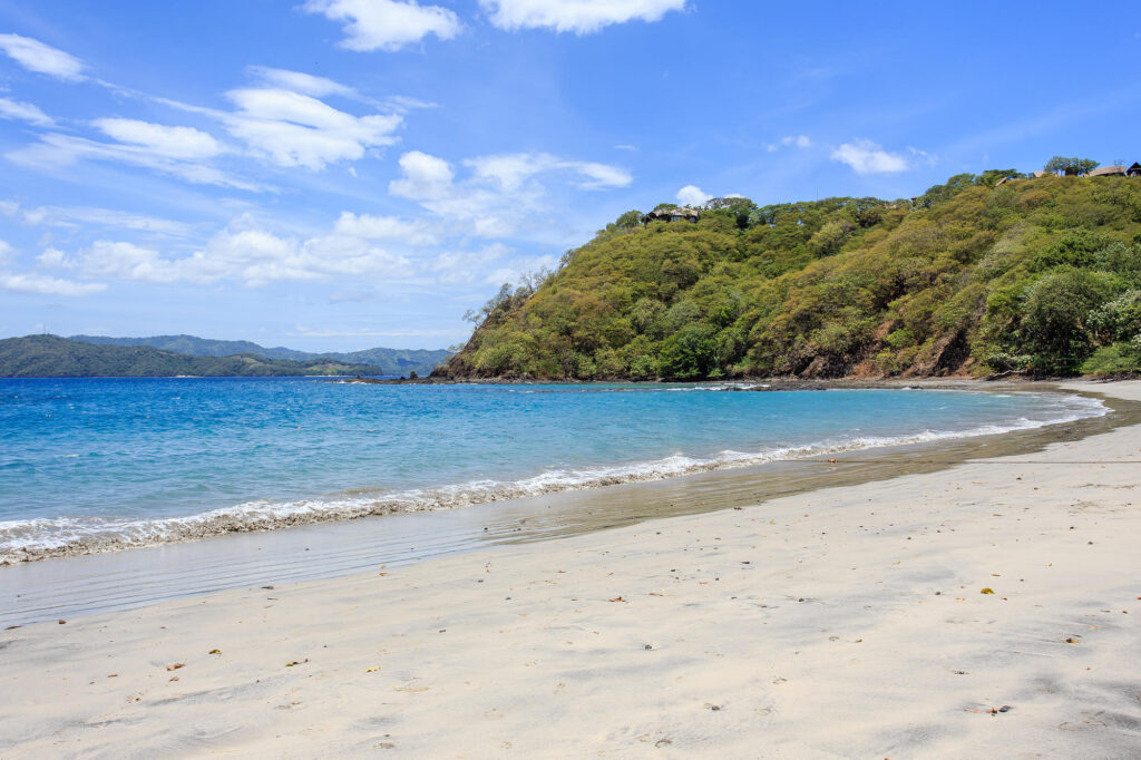 Beach at the Four Seasons Resort Costa Rica at Peninsula Papagayo