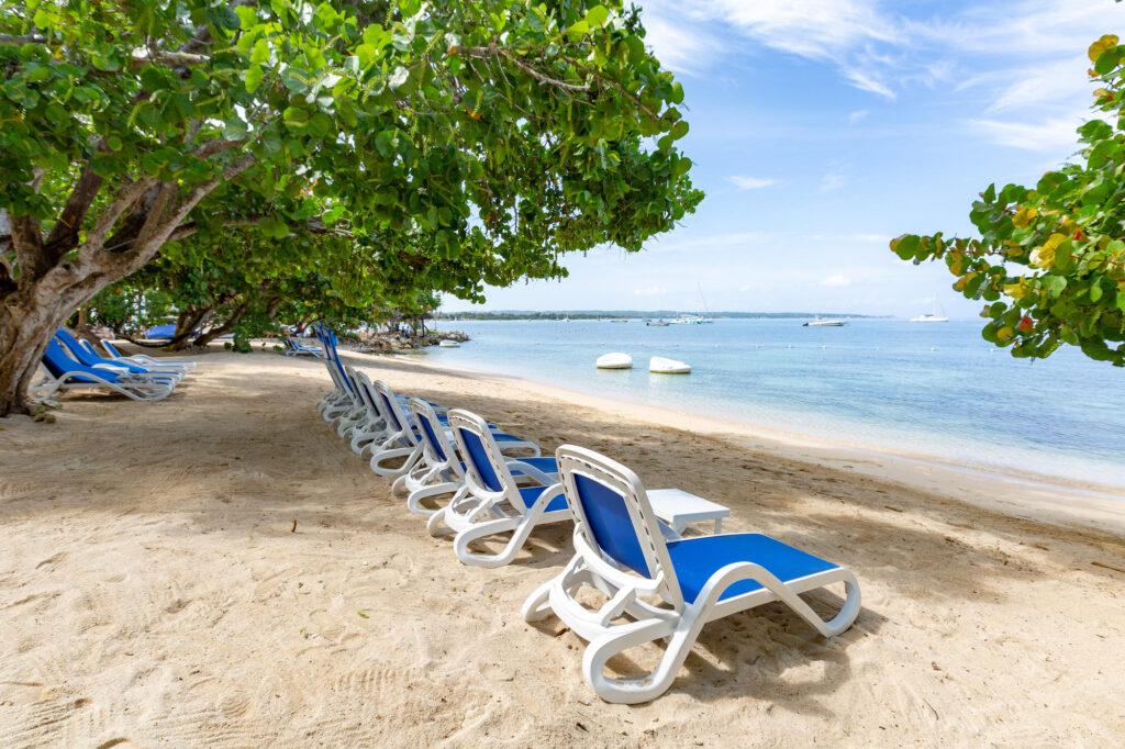 Beach at Hedonism II, Negril, Jamaica