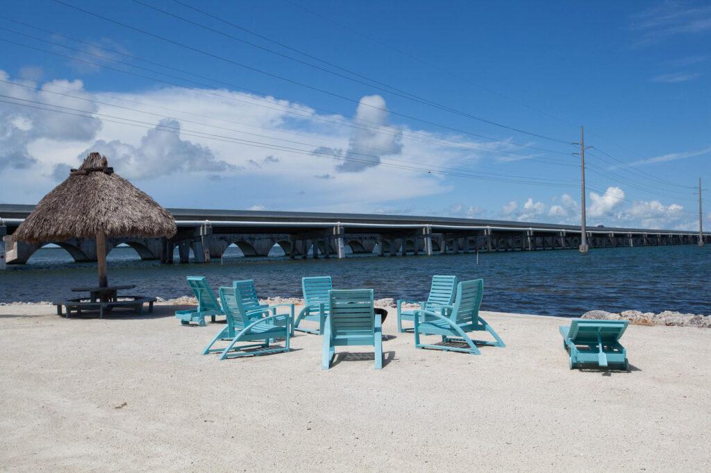 Beach at the Big Pine Key Fishing Lodge