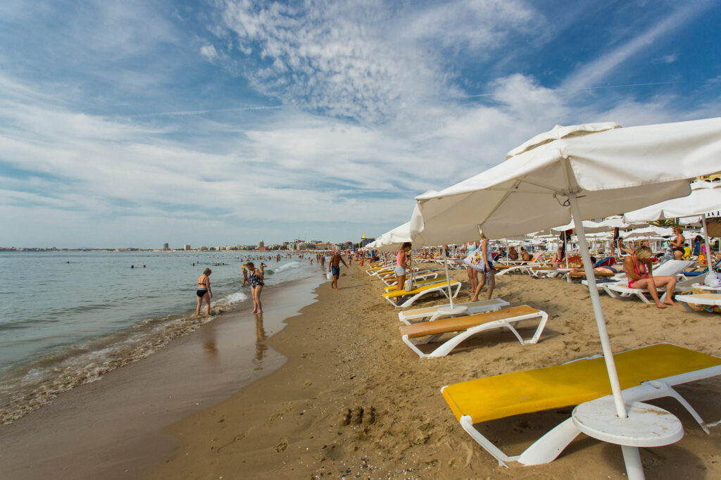 Beach at the DIT Majestic Beach Resort