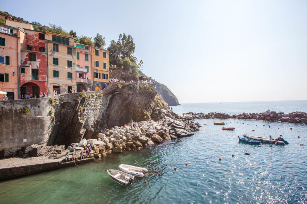 Beach near the Cinqueterre Residence