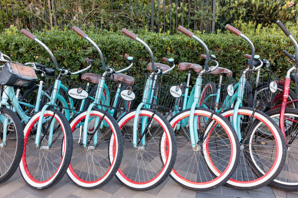 Bicycle Rentals at the Marriott Marquis San Diego Marina