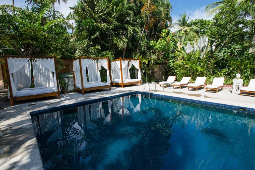 Clothing Optional Pool at Copacabana Hotel & Suites