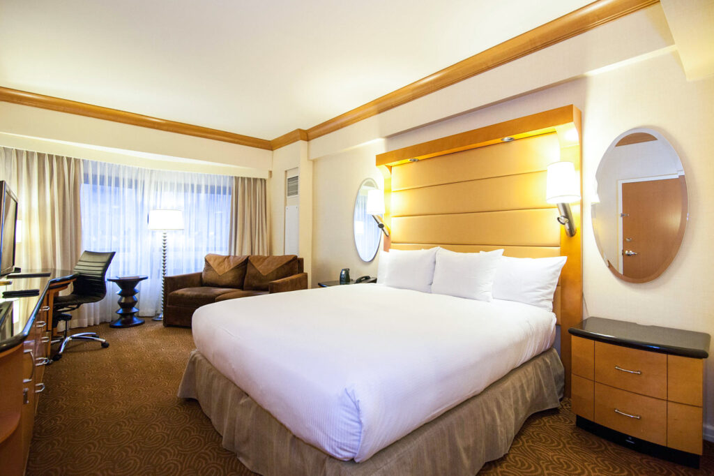 The Urban King Room at the New York Hilton Midtown