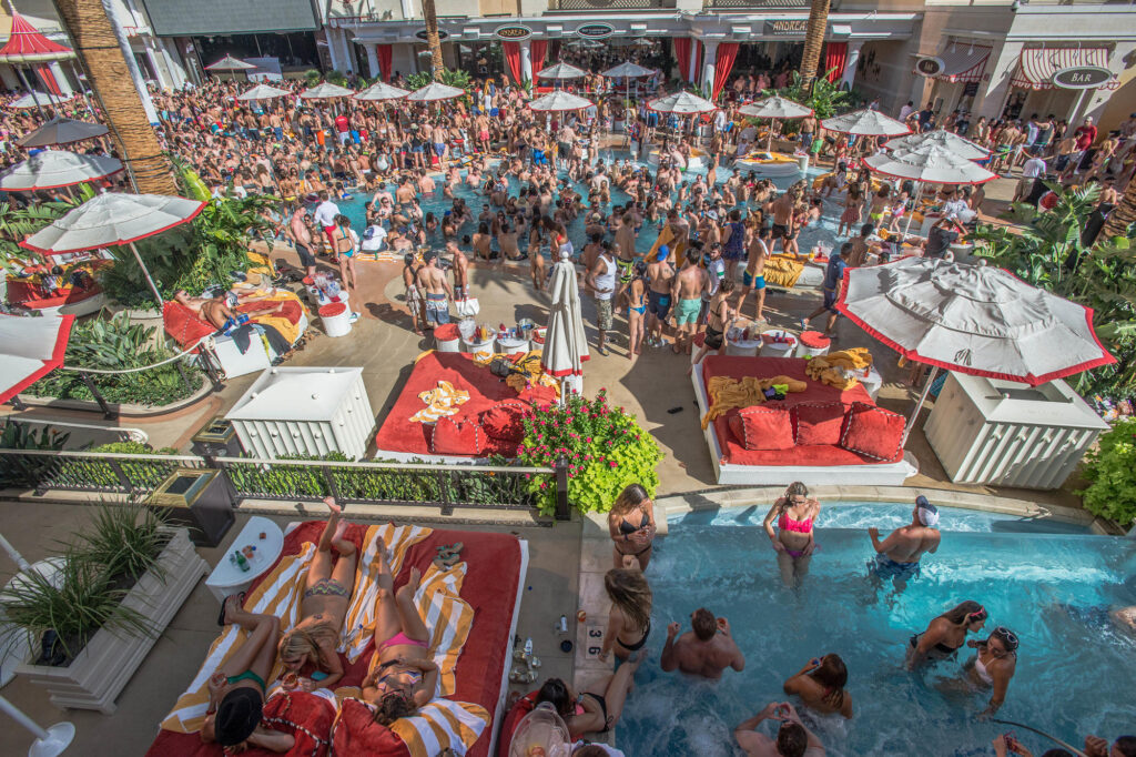 The Encore Beach Club at Encore at Wynn Las Vegas