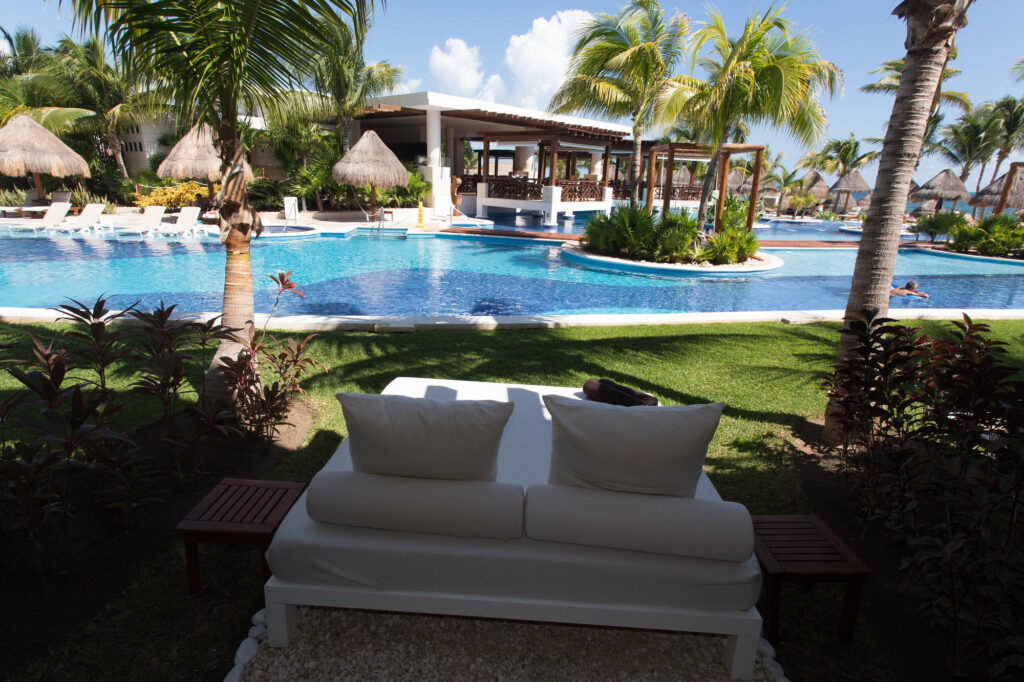 The Excellence Club Junior Swim Up Suite at the Excellence Playa Mujeres