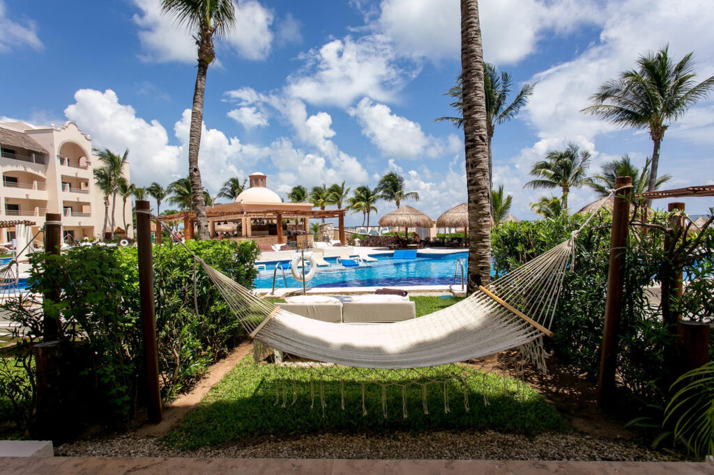 The Excellence Club Junior Swim Up Suite at the Excellence Riviera Cancun