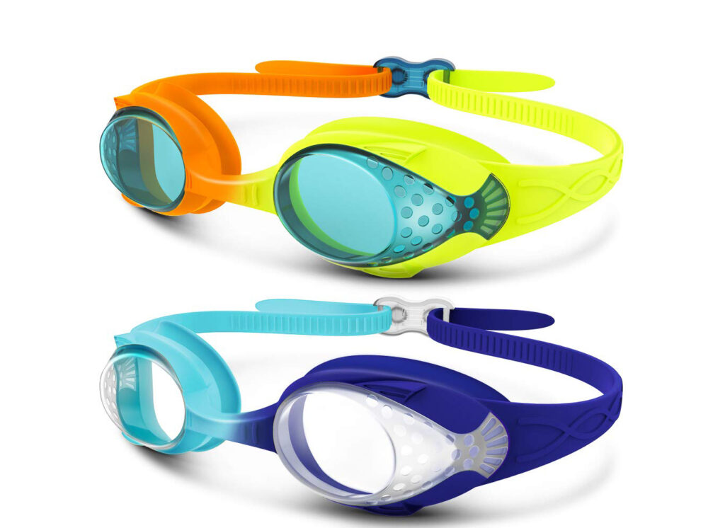 OutdoorMaster Kids Swimming Goggles
