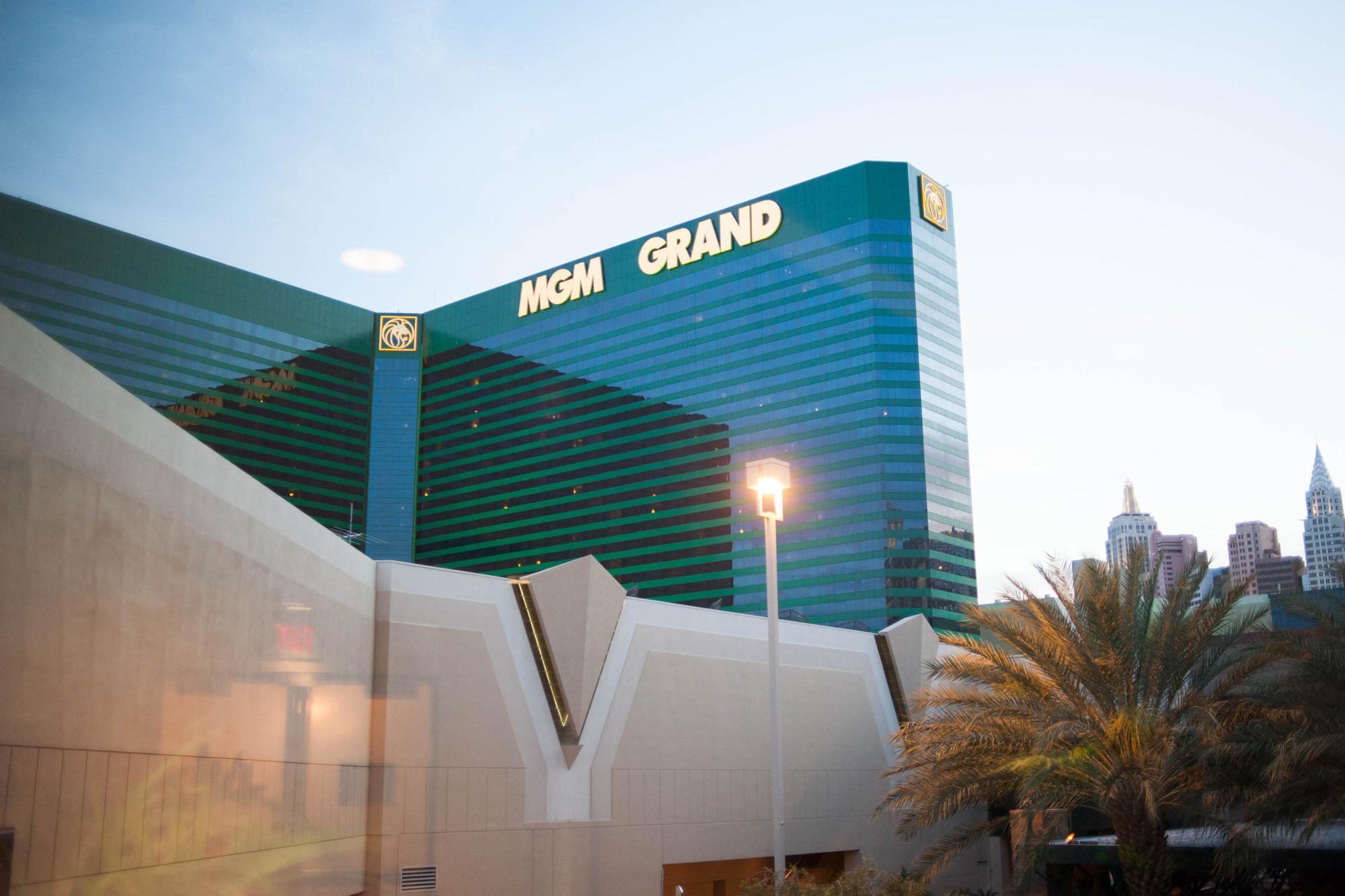 MGM Grand Hotel exterior