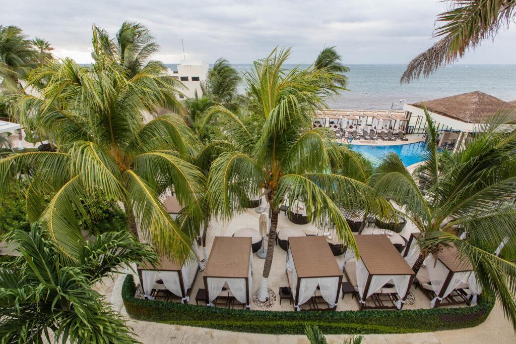Overview of Desire Riviera Maya Resort